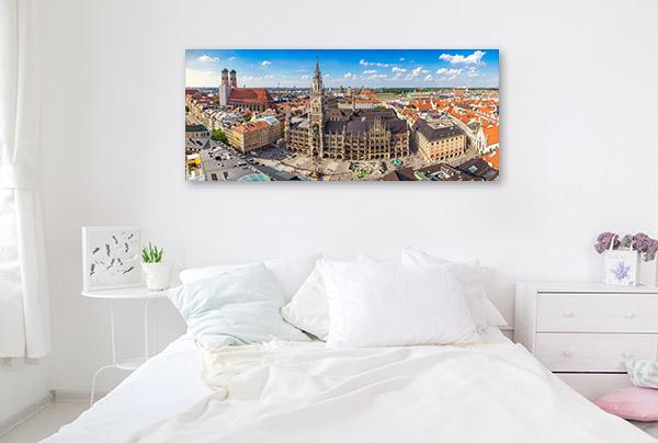 Munich Skyline Photo Wall Arts