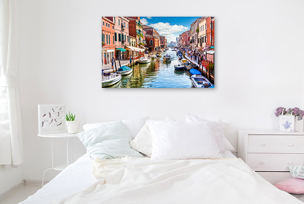 Murano Island Art Print Venice Photo Wall