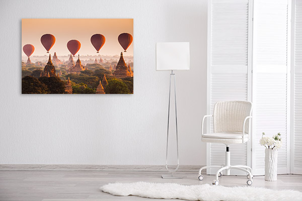 Myanmar Art Print Bagan Wall Photo