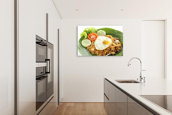 Nasi Goreng Canvas Photo Print