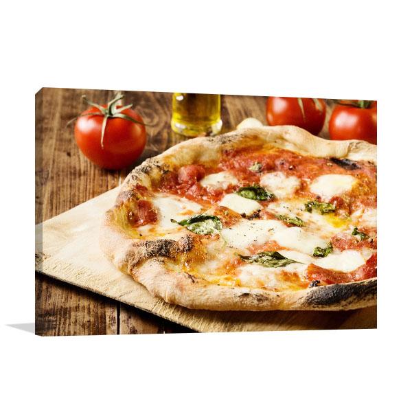 Neapolitan Pizza Canvas Art Prints