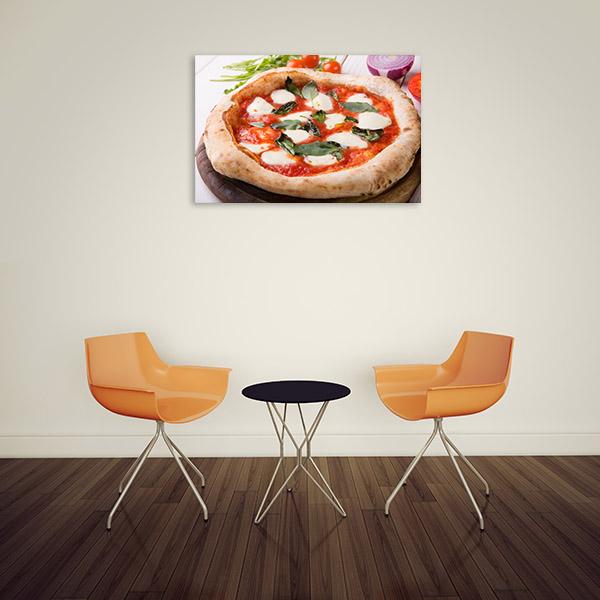 Neapolitan Pizza Print Wall Art