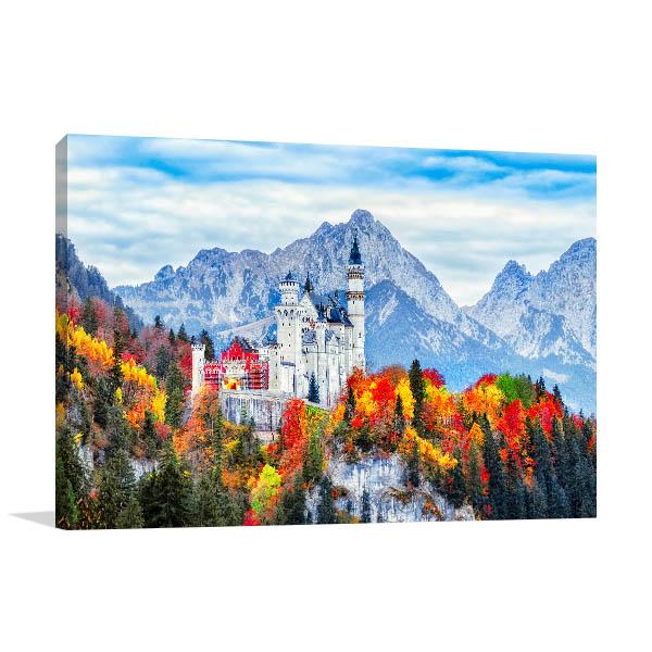 Neuschwanstein Castle Picture Print