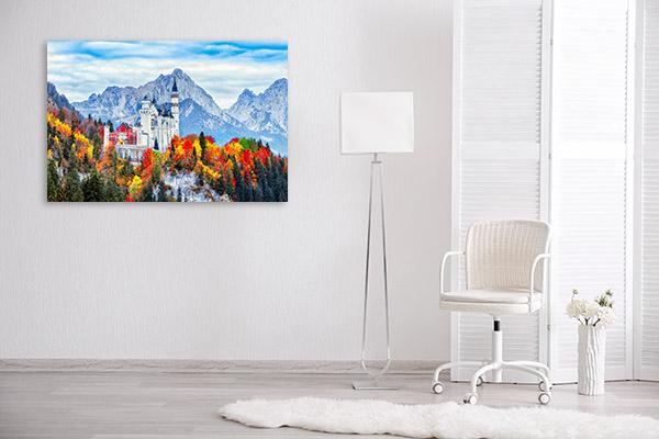 Neuschwanstein Castle Photo Wall