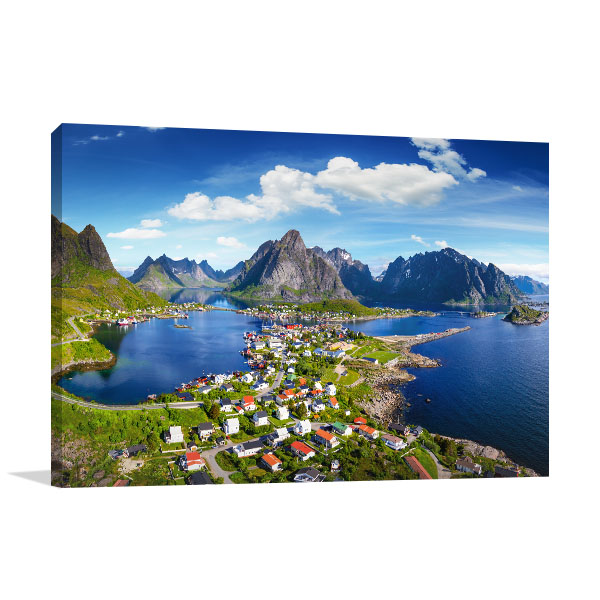 Norway Art Print Lofoten Wall Picture