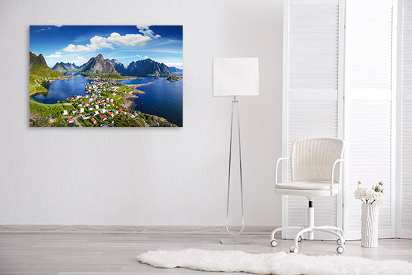 Norway Art Print Lofoten Canvas Artwork