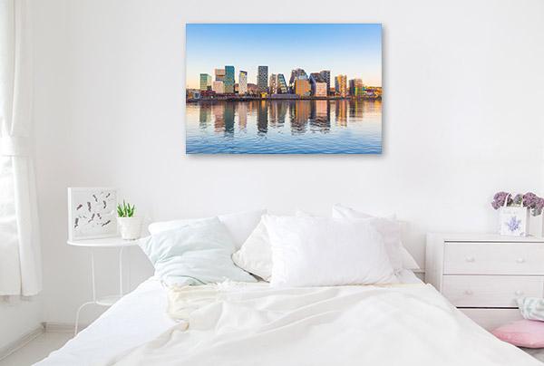Oslo Norway Art Print Skyline Picture Canvas