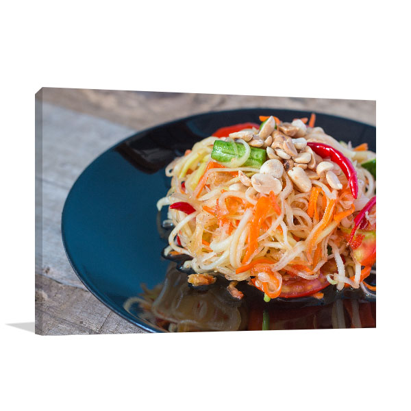 Papaya Salad Artwork Photo