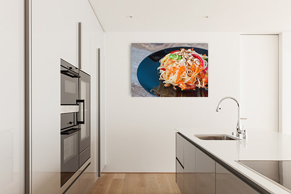 Papaya Salad Wall Picture