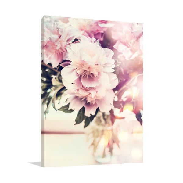 Peonies on Vase Print Photo
