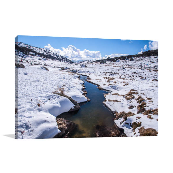 Perisher Blue Art Print Snow Mountain Photo Wall