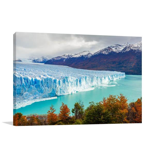 Perito Moreno Glacier Wall Art Print