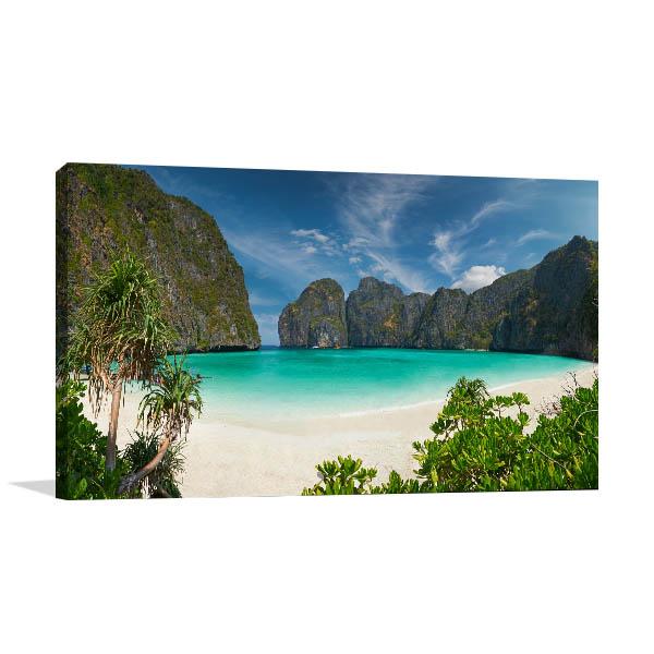 Phi Phi Beach Photo Print