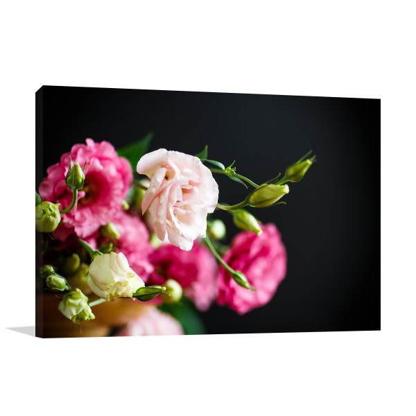 Pink Freesias Photo Wall