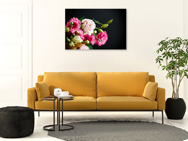 Pink Freesias Picture Print