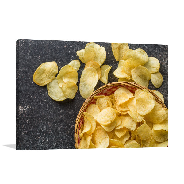 Potato Chips Canvas Prints