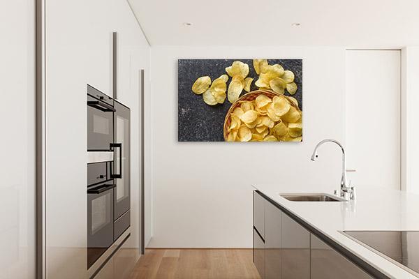 Potato Chips Canvas Photo
