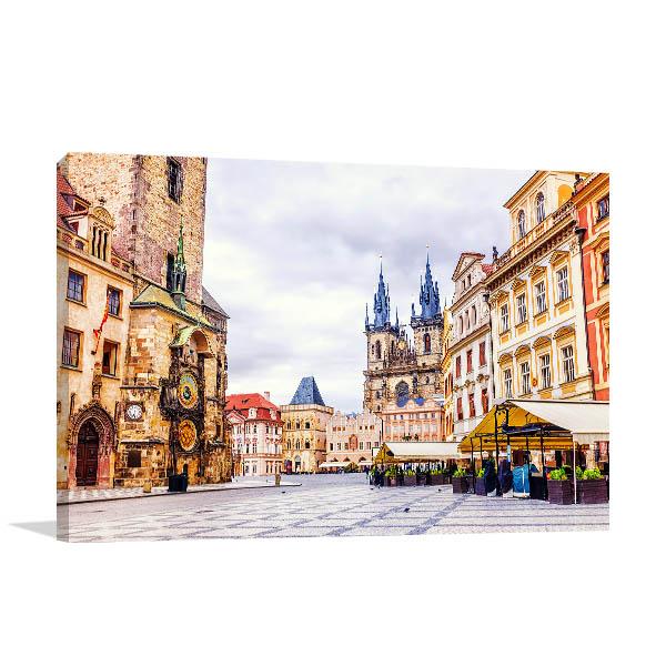 Prague Canvas Art Prints
