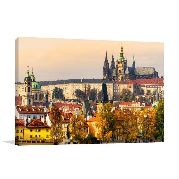 Prague Castle Wall Artwork