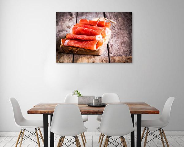 Prosciutto Wall Canvas Design