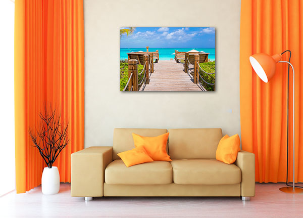 Providenciales Turks and Caicos Photo Artwork
