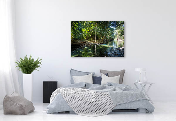 Queensland Canvas Print Creek Cape Photo Art