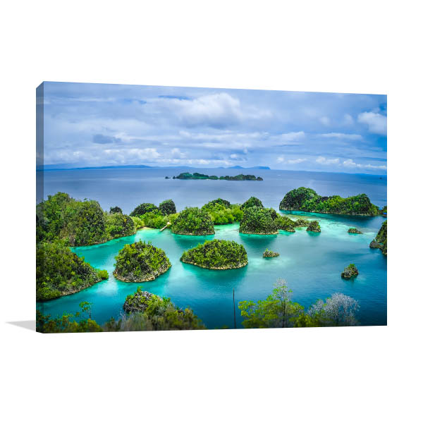 Raja Ampat Indonesia Picture Canvas