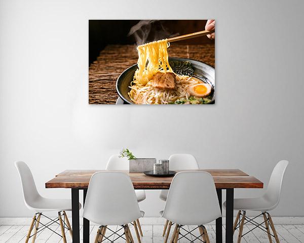Ramen Canvas Photo Print