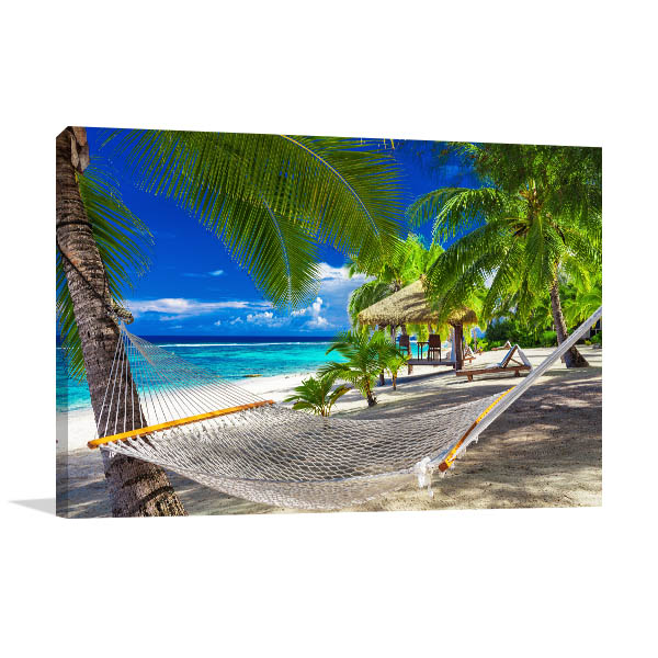 Rarotonga Cook Islands Artwork Print