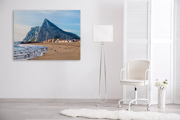 Rock of Gibraltar Canvas Prints