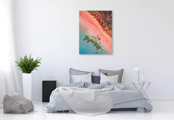 Roebuck Bay Canvas Art Print Mangroves Wall Picture