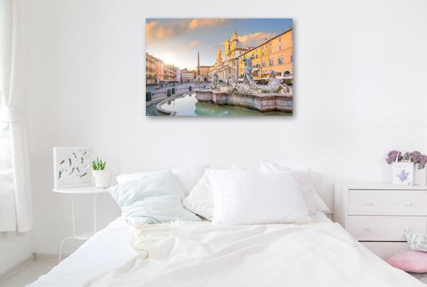 Rome Art Print Piazza Navona Artwork Photo