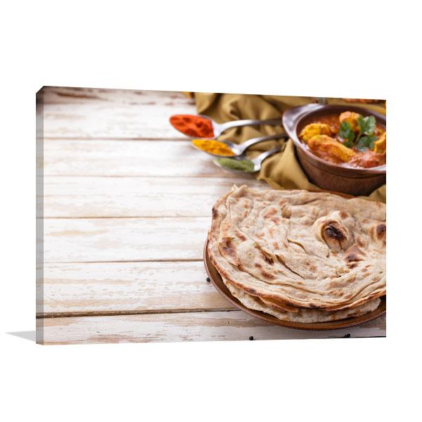 Roti Prata Print Artwork