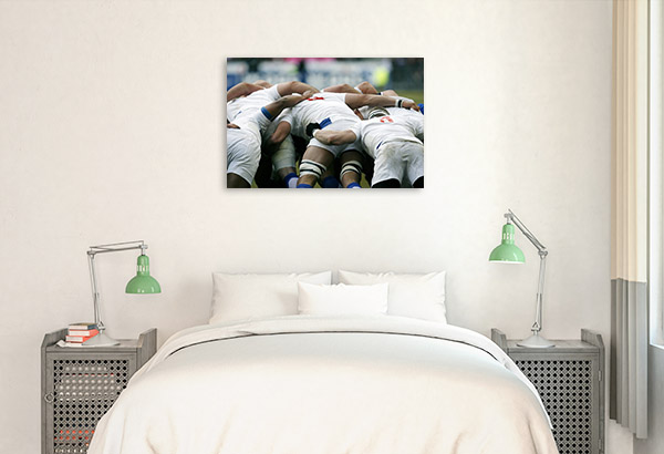 Rugby Players Print Picture