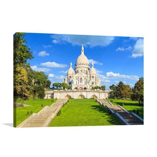 Sacre Coeur France Print Picture