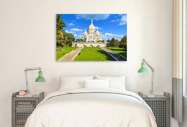 Sacre Coeur France Artwork Print