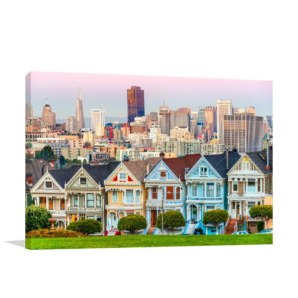 San Francisco Art Print California Artwork Canvas