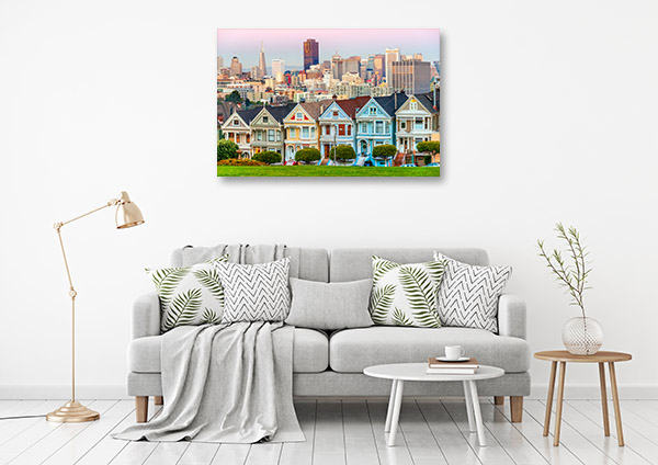 San Francisco Art Print California Artwork Wall