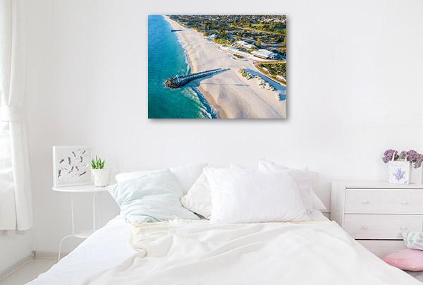 Sea Wall Perth Canvas Photo Print