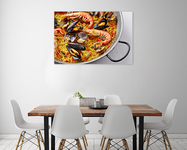 Seafood Paella Artwork Picture
