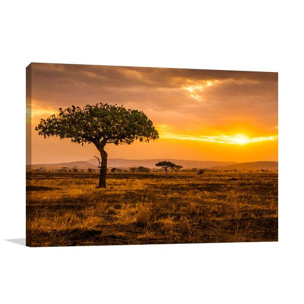 Serengeti Canvas Artwork