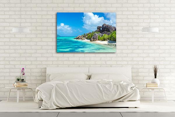 Seychelles Canvas Wall