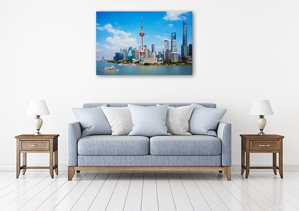 Shanghai Skyline Artwork Photo