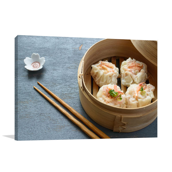 Shrimp Dumpling Artwork Print