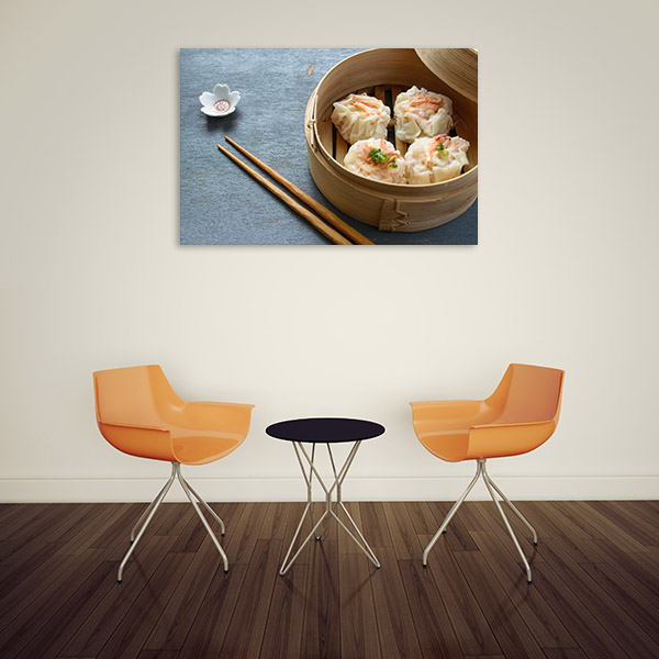 Shrimp Dumpling Prints Canvas