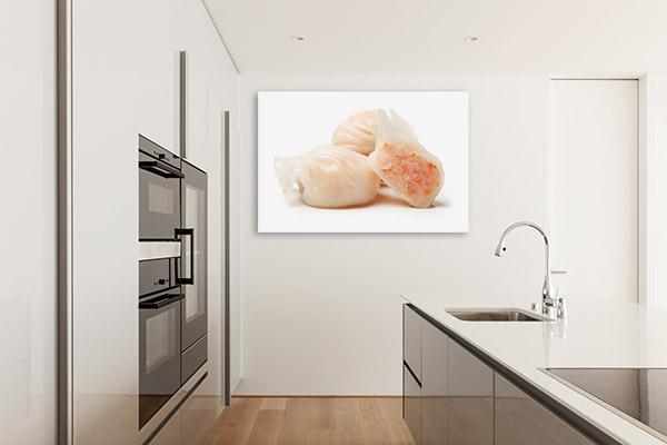 Shrimp Dumpling Art Picture