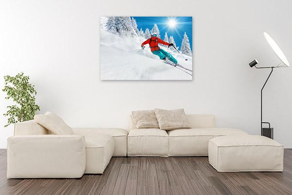 Skiing Downhill Art Prints