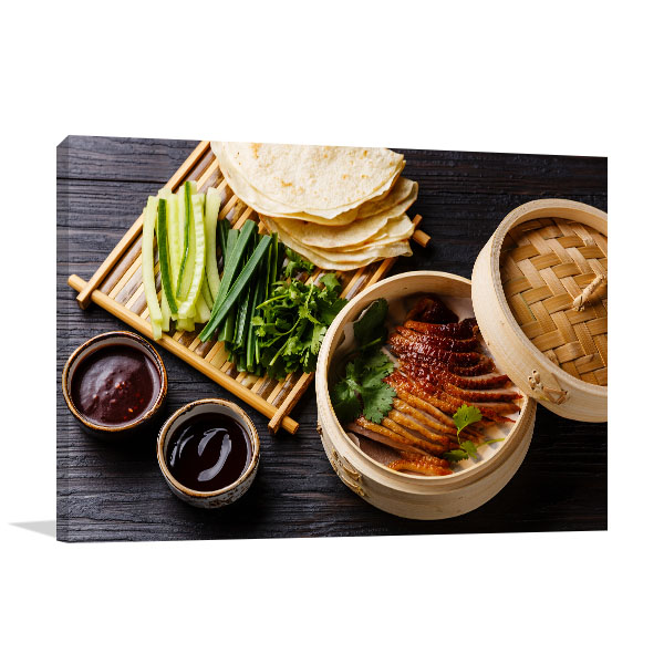 Sliced Peking Duck Picture Canvas