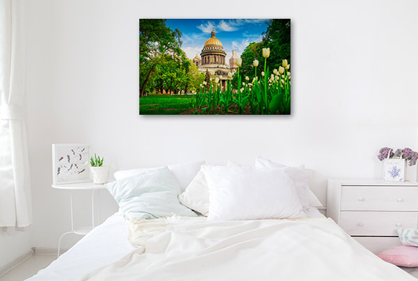 St Petersburg Art Print Spring Wall Photo
