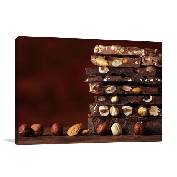 Stacked Chocolate Print Artwork